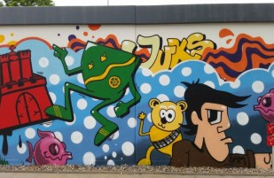 Graffitiworkshop in Schenefeld
