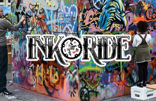 INK & RIDE 2015 feat. Street Art School