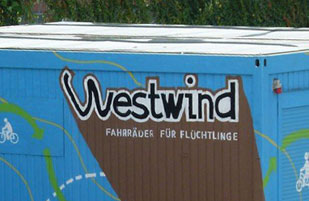 WESTWIND: Container-Gestaltung