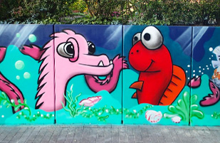 ELB:ART bringt Farbe nach Boizenburg