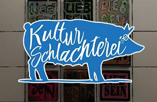 Street Art  School meets Kulturschlachterei
